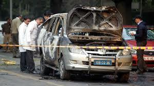 Israeli Embassy Car Blast New Delhi Investigaion